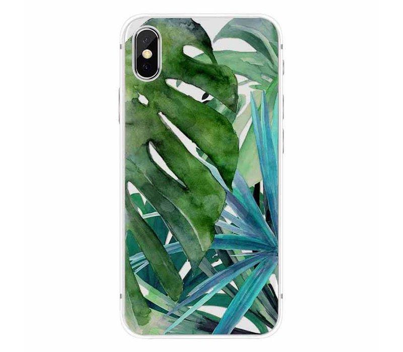 iPhone X Botanical Leaves