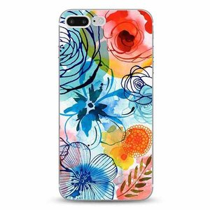 Cases We Love iPhone 7 Plus / 8 Plus Tropical Watercolor