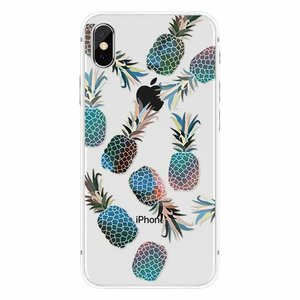 Cases We Love iPhone X Blue Pineapple