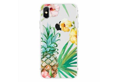 Apple iPhone X Summer Pineapple