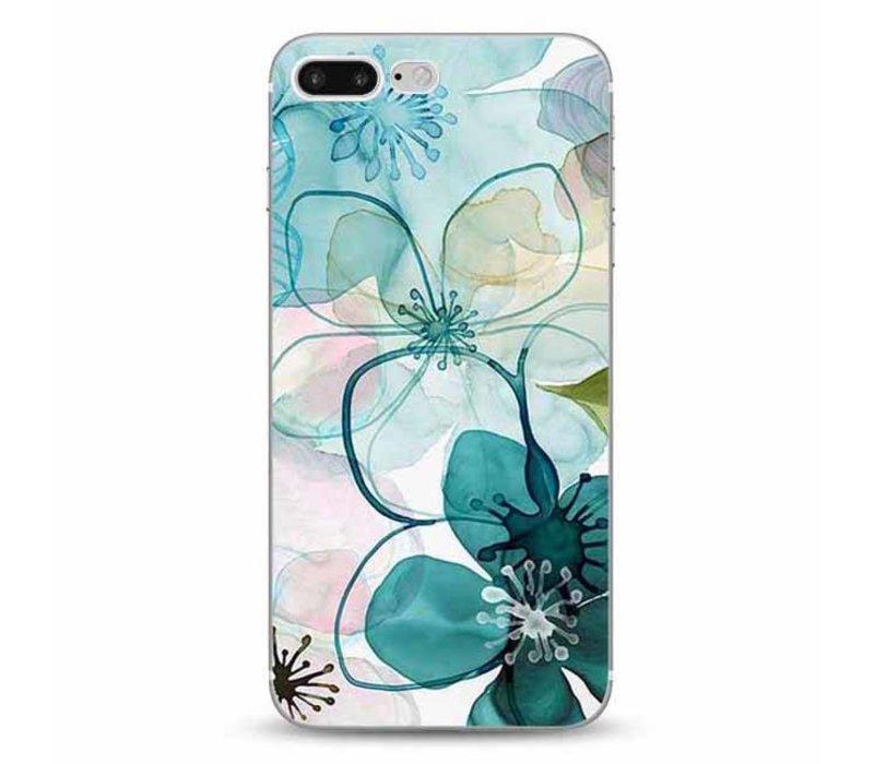 iPhone 7 Plus / 8 Plus Purple Peony Watercolor
