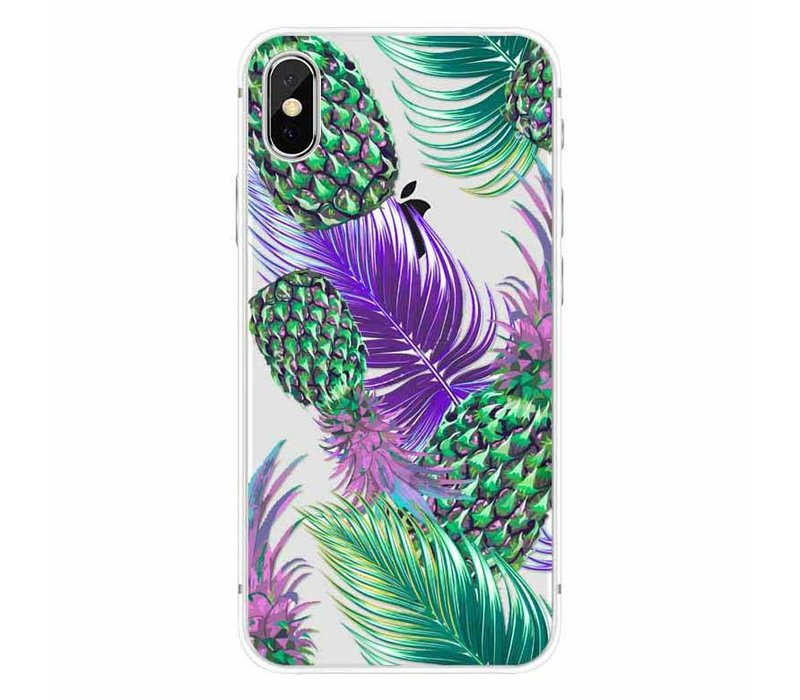 iPhone X Funky Pineapple