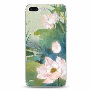 Cases We Love iPhone 7 Plus / 8 Plus Romantic Water Lily