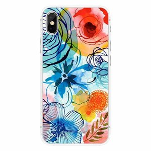 Cases We Love iPhone X Tropical Watercolor
