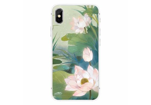 Apple iPhone X Romantic Water Lily
