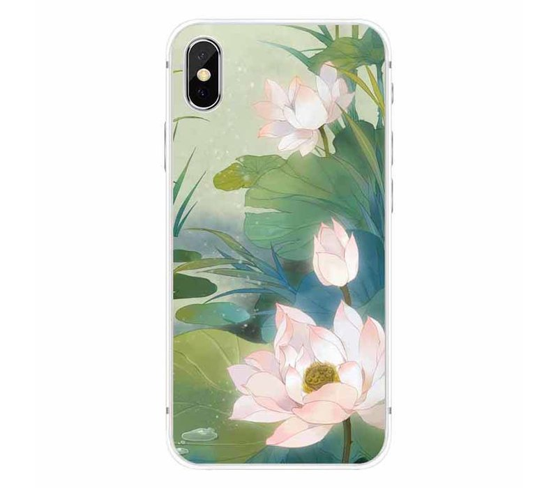 iPhone X Romantic Water Lily