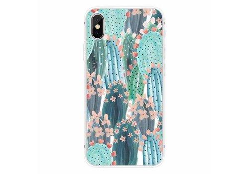 Apple iPhone X Cactus Bloom