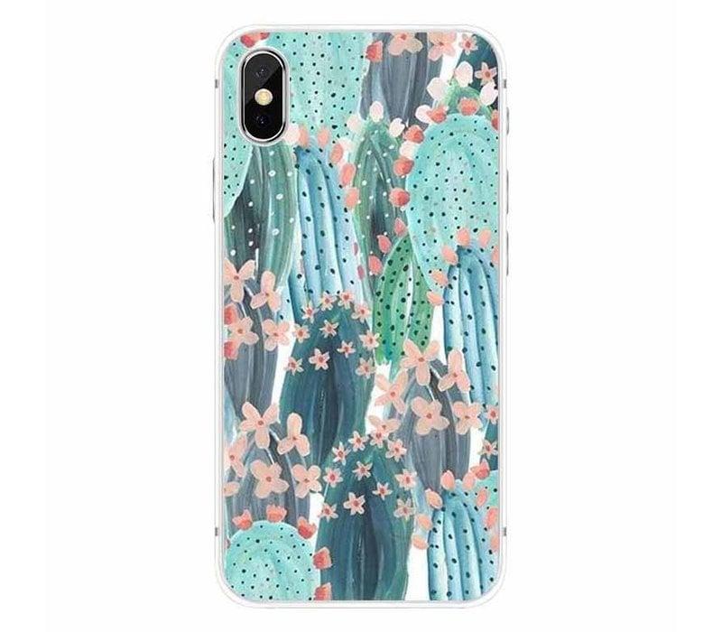iPhone X Cactus Bloom