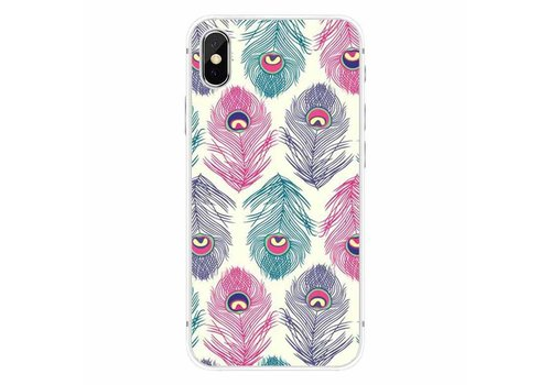 Cases We Love iPhone X Ibiza Peacock Feather
