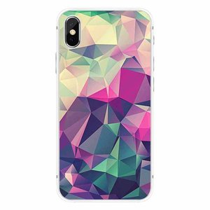 Cases We Love iPhone X Colorful Geometry