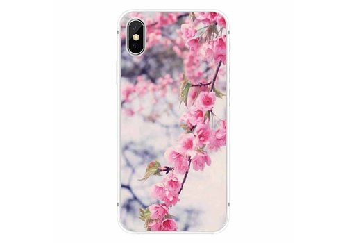 Apple iPhone X Blossom Marble