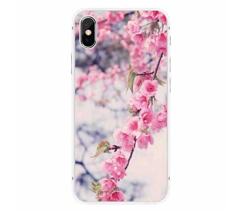 iPhone X Blossom Marble