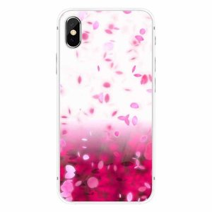 Cases We Love iPhone X Pink Rain Cherry Blossom