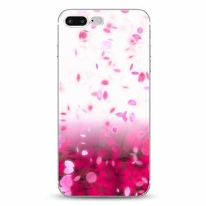 Cases We Love iPhone 7 Plus / 8 Plus Pink Rain Cherry Blossom