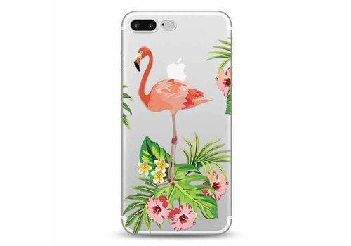 Apple iPhone 7 Plus / 8 Plus Flamingo Garden
