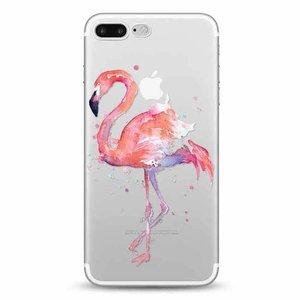 CWL iPhone 7 Plus / 8 Plus Flamingo Watercolor Pink Bird