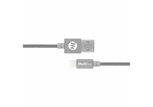 Multiline Multiline Lux Lightning cable Spacy Gray