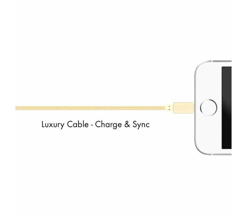 Multiline Lux Lightning cable Bright Gold