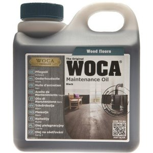 Woca Maintenance oil BLACK 1 Ltr NEW!