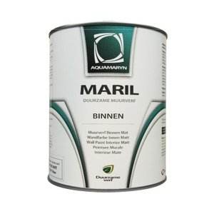 Aquamaryn Verf Maril Interior Wall Paint Base WHITE