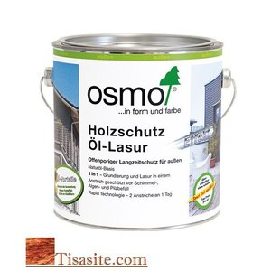 Osmo Buitenhout Natural Oil Stain Effekt (Silver Colors)