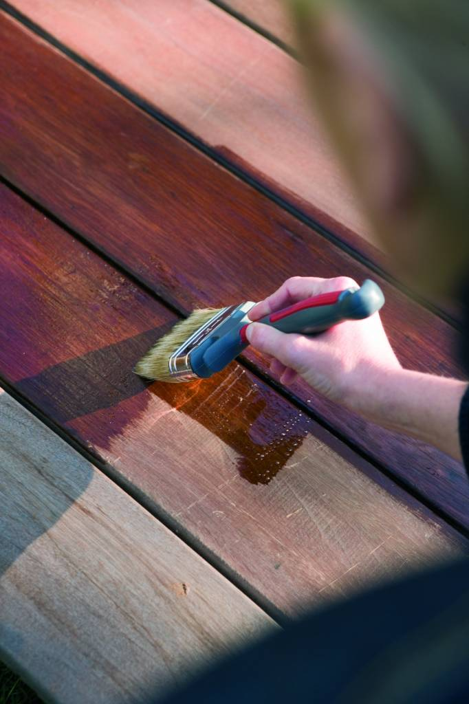 Exterior Aceite Sal Verde para Terraza, Muebles, Cabaña de madera ...