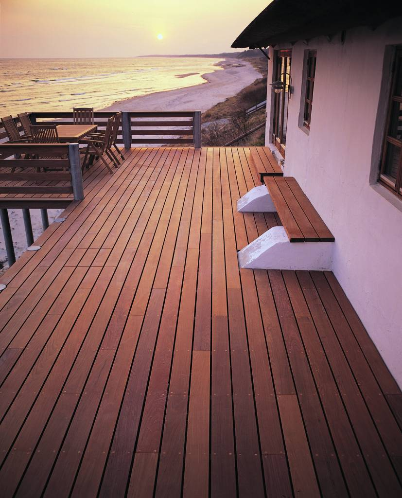Woca Exterior Oil Teak For Terrace Furniture Log Cabin