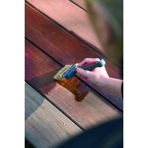 Woca Exterior Oil WALNUT for Terrace, Furniture, Log Cabin etc.