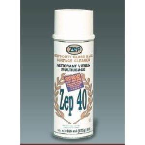 Zep 40 Glass Cleaner ACCIÓN