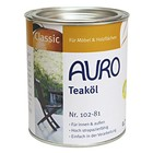 Auro 102 Garden Furniture Oil 0.75 ltr