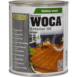 Woca Oil for exterior SILVER Terrace, Furniture, Log Cabin etc.