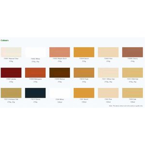 Osmo Houtvuller (Woodfiller) 250gram (choose your color here)