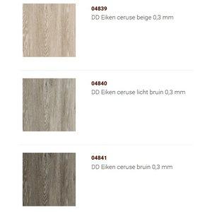 Douwes Dekker VRIENDELIJK: Collectie PVC in neutrale en ingetogen kleuren met 3D toplaag [klik hier] Prijs per pak van 3,34m2