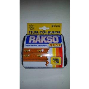 2 Stuks Polijstkussentjes Extra (staalwol fijn 00)