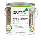 Osmo Buitenhout Wood paint opaque 2104 WHITE (Perfect product for windows and doors!)