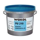 Wakol Adhesivo para parquet 2k PU 210 (6.9 kilo incl. Más duro)