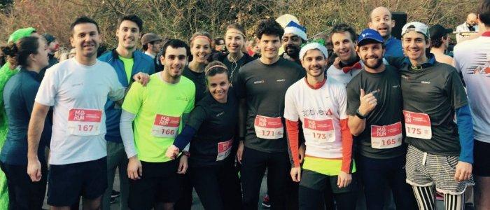 Bedrijven dagen elkaar uit voor Movember Run