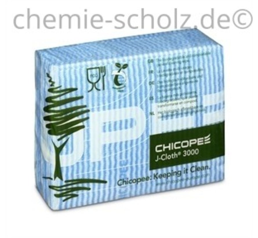 J-Cloth 3000 Reinigungstücher 43x32cm 50 Stück blau