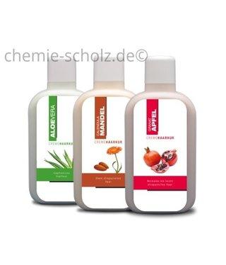 SCHOLZ COSMETIC Haarkur Mandel, Granatapfel, Aloe Vera 3x1 Liter