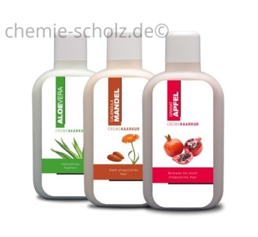 Haarkur Mandel, Granatapfel, Aloe Vera 3x1 Liter