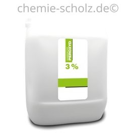 SCHOLZ COSMETIC Wasserstoffperoxyd 3% 5 Liter Kanister