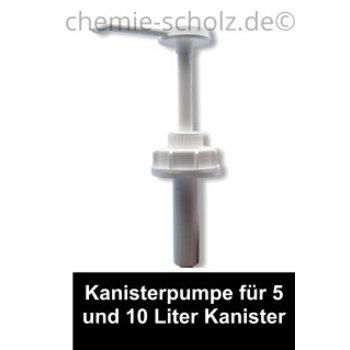 Kanisterpumpe für 5 L und 10 L Kanister