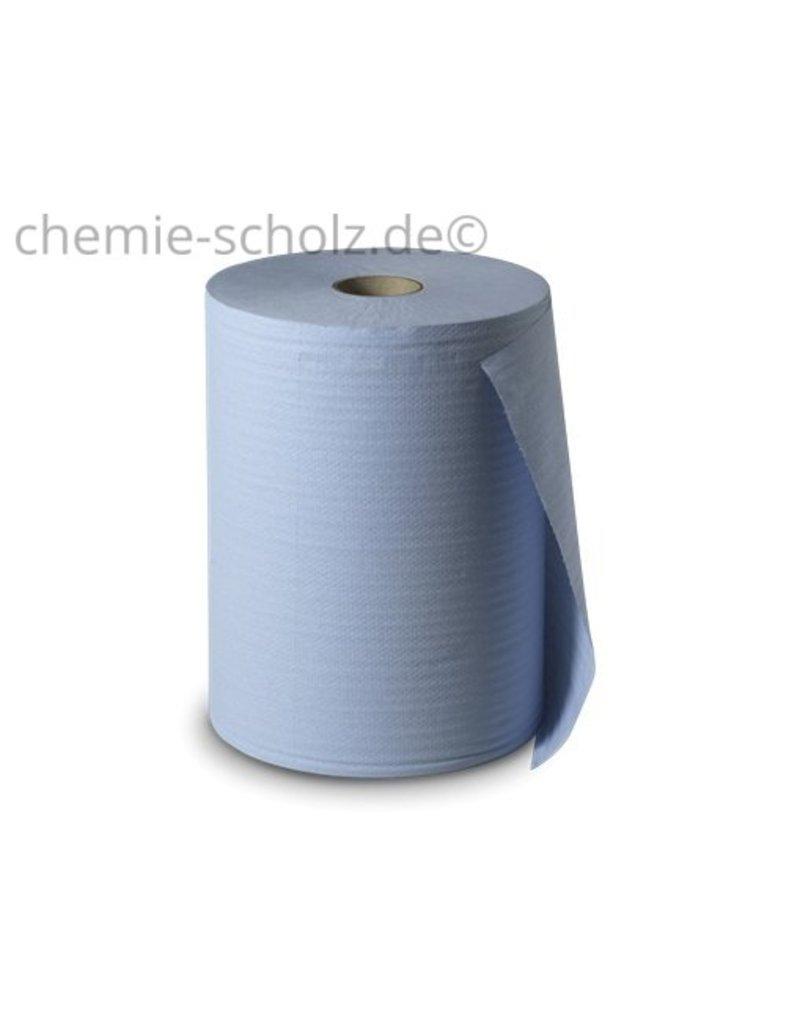 Fatzzo TT Putztuchrolle-Blau 3Lg 1000 Blatt/ Blau  Außenabwicklung