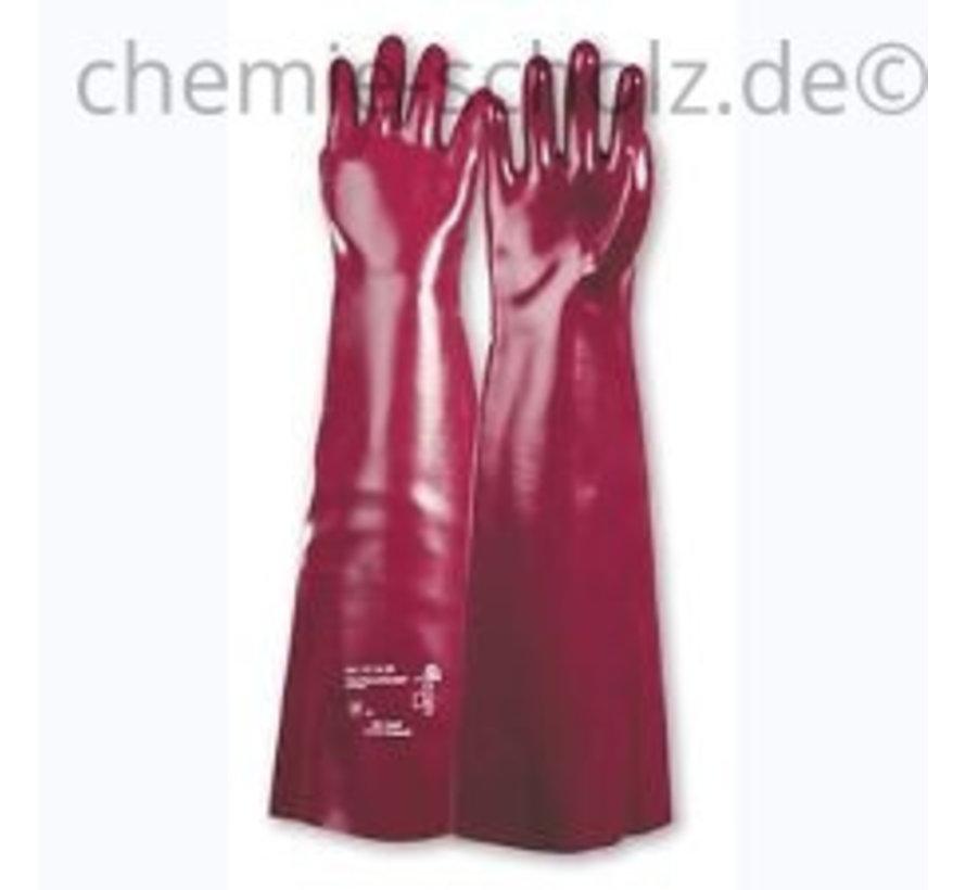 Industrie- PVC Handschuhe 1 Paar - extralang 45cm