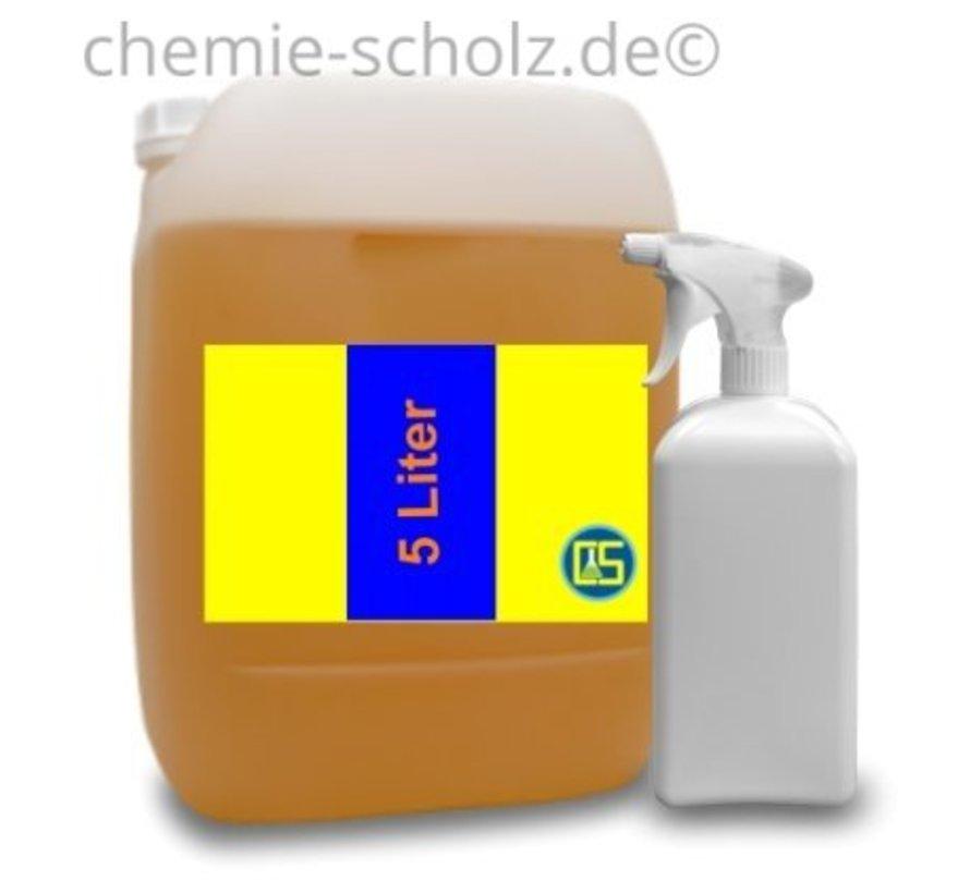 Nikotin Reiniger 5 Liter + 1 leere Sprühflasche + 3 Microfasertuch
