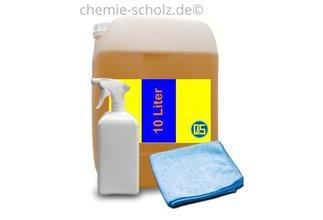 Fatzzo TT Nikotin Reiniger 10 Liter + 1 leere Sprühflasche + 1 Microfasertuch