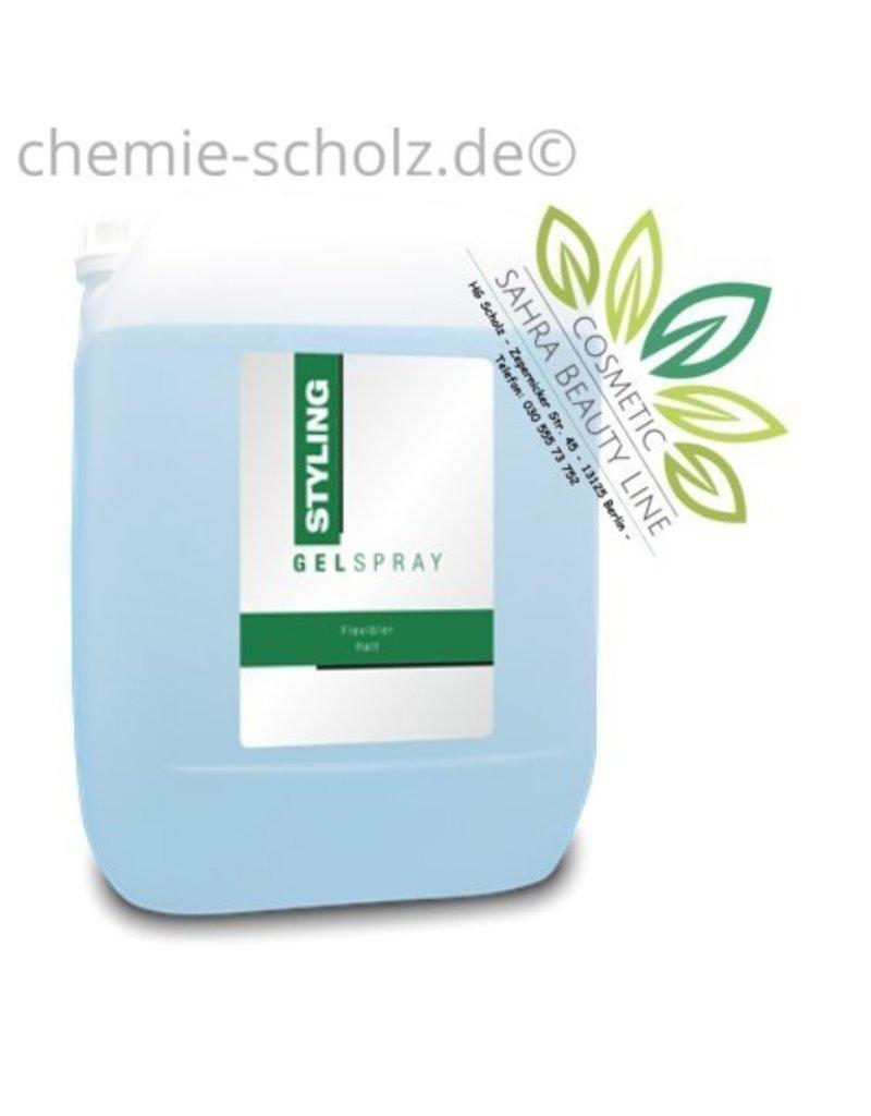 SCHOLZ COSMETIC Fixier Spray normaler Halt 5 Liter Kanister - widerstandsfähig gegen Wind und Wetter