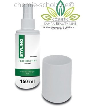 SCHOLZ COSMETIC Fixier Spray normaler Halt 150 ml.
