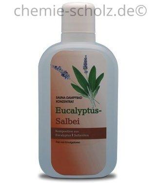 SCHOLZ COSMETIC Sauna & Dampfbad Konzentrat Eukalyptus Salbei 1 Liter