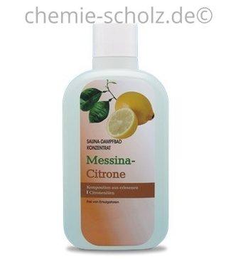 SCHOLZ COSMETIC Sauna & Dampfbad Konzentrat Messina Zitrone 1 Liter